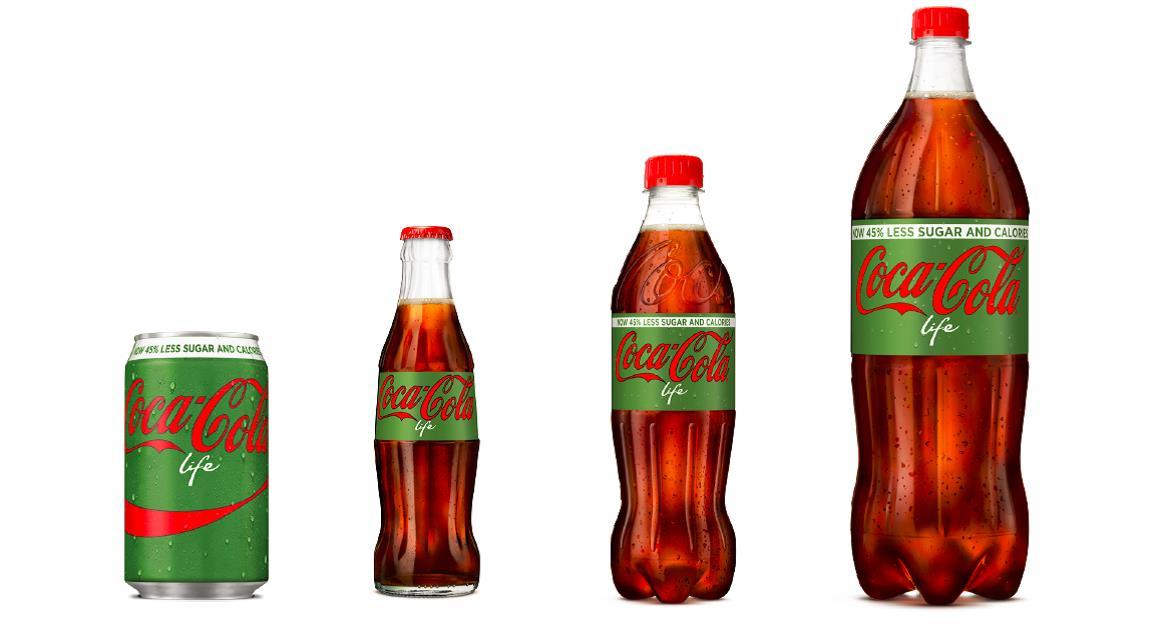 45 moins de sucre 100 coca cola life coca cola belgium. Black Bedroom Furniture Sets. Home Design Ideas