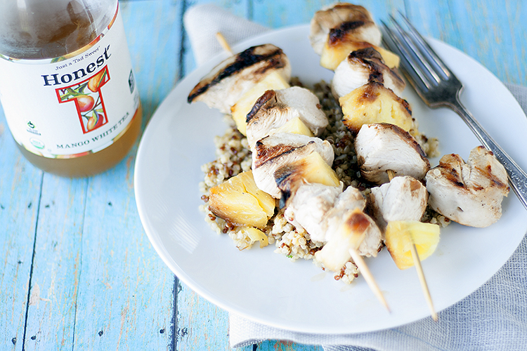 honest tea tropical skewers