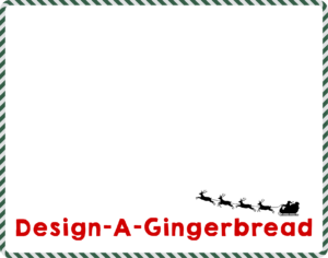 Holiday cookie bag tag